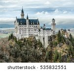 the neuschwanstein castle in... | Shutterstock . vector #535832551