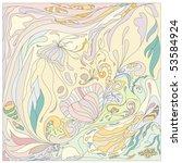 Vector  Floral Pastel Colors...