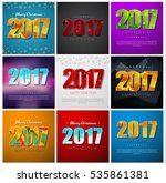 Set Square Banners Happy New...