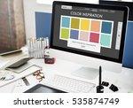 Colour Shade Design Colourful...