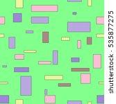 geometric seamless bright... | Shutterstock .eps vector #535877275