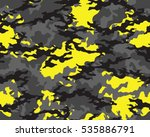 fashionable camouflage pattern  ... | Shutterstock .eps vector #535886791