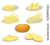 abstract vector icon... | Shutterstock .eps vector #535894561