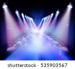 spotlight during the... | Shutterstock .eps vector #535903567