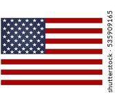 american flag.american flag... | Shutterstock .eps vector #535909165