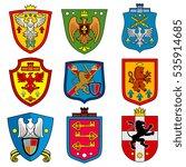 family dynasty medieval royal... | Shutterstock .eps vector #535914685