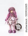 doll horoscope symbols zodiac... | Shutterstock . vector #535931005