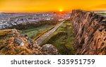 view of edinburgh and edinburgh ...   Shutterstock . vector #535951759