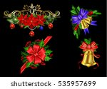 christmas elements for your... | Shutterstock .eps vector #535957699