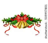 christmas elements for your... | Shutterstock .eps vector #535957801