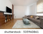 interior of a modern living room | Shutterstock . vector #535960861