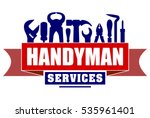 handyman services vector design ...