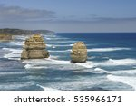 some of the twelve apostles | Shutterstock . vector #535966171