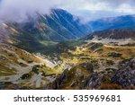 a beautiful mountain landscape...   Shutterstock . vector #535969681