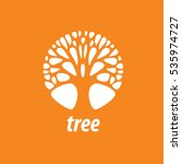 vector logo tree | Shutterstock .eps vector #535974727