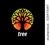 vector logo tree | Shutterstock .eps vector #535975597