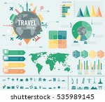 travel and tourism. infographic ... | Shutterstock .eps vector #535989145