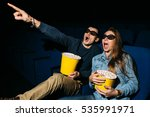 Cinema Day  Young Couple With...