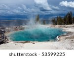 Black Pool Hot Spring In West...