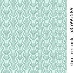 wavy seamless abstract pattern.... | Shutterstock . vector #535995589