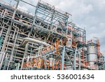 industrial zone the equipment... | Shutterstock . vector #536001634