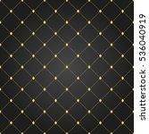 geometric dotted vector black... | Shutterstock .eps vector #536040919