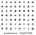 real estate icons   Shutterstock .eps vector #536057989