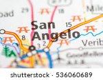 san angelo. texas. usa   Shutterstock . vector #536060689