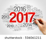 2017 happy new year and... | Shutterstock . vector #536061211