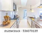 modern kitchen with fancy items ... | Shutterstock . vector #536070139