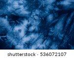 Pattern Of Indigo Batik Dye On...