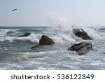 The High Waves Of The Sea ...