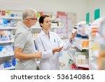 medicine  pharmaceutics  health ... | Shutterstock . vector #536140861