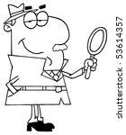 clipart illustration of an... | Shutterstock .eps vector #53614357