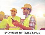 industry  building  technology... | Shutterstock . vector #536153431