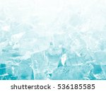ice for background | Shutterstock . vector #536185585