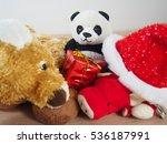 Panda With Soft Dolls ...