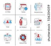 audit data analysis  human... | Shutterstock .eps vector #536204359
