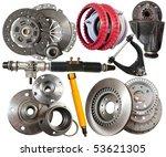 set of automotive parts.... | Shutterstock . vector #53621305