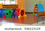 a tunnel shape game and a slide ... | Shutterstock . vector #536215129