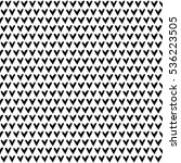 seamless vector pattern black... | Shutterstock .eps vector #536223505