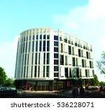 3d rendering and design  ... | Shutterstock . vector #536228071