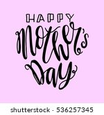 happy mother's day. greeting... | Shutterstock .eps vector #536257345