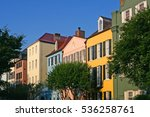"colorful residences   historic ""... 