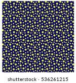 cartoon star night sky vector... | Shutterstock .eps vector #536261215