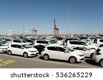 vehicle import   fremantle  ... | Shutterstock . vector #536265229
