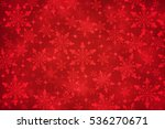 Christmas  Snowflakes On Red...