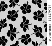 seamless pattern with floral... | Shutterstock . vector #536279797