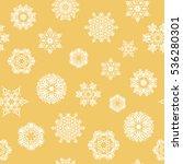 snowflake frame. christmas...   Shutterstock . vector #536280301