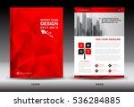 annual report brochure flyer... | Shutterstock .eps vector #536284885
